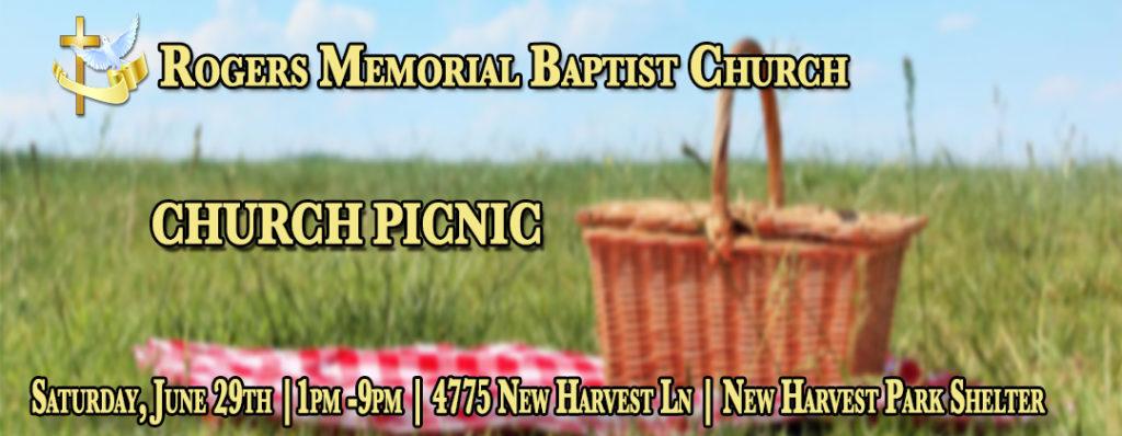 Church Picnic 1:00 PM